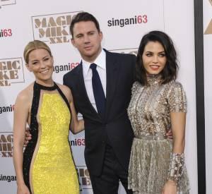 Channing Tatum, ici accompagné d'Elizabeth Banks et de Jenna Dewan.