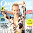 Estelle Lefébure fait la Une du numéro  Questions de femmes  du 26 juin 2015.
