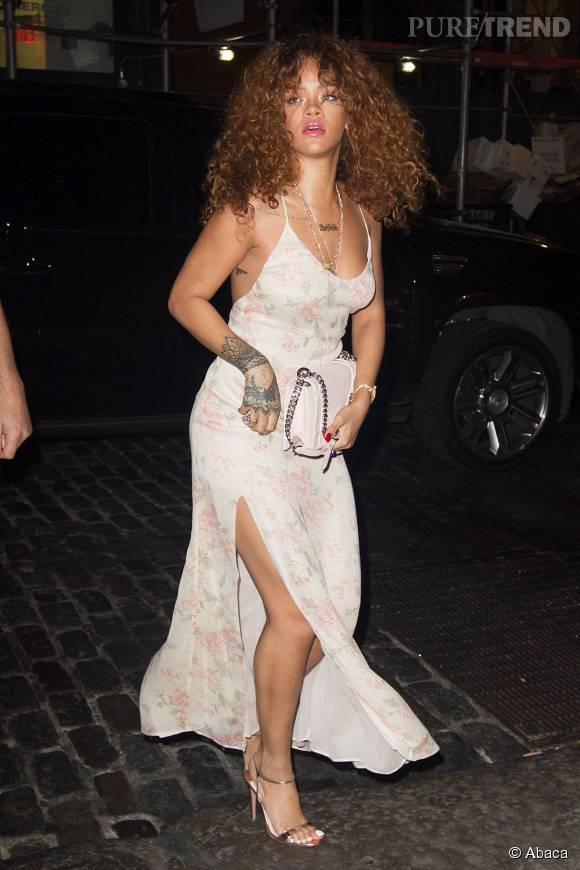 Rihanna toujours autant d'audace et de sex-appeal à la Barbade pour des vacances torrides.