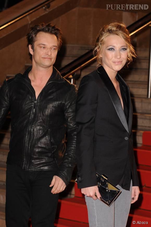 Laura Smet et David Hallyday se sont retrouvés à Ibiza pour des vacances en famille.