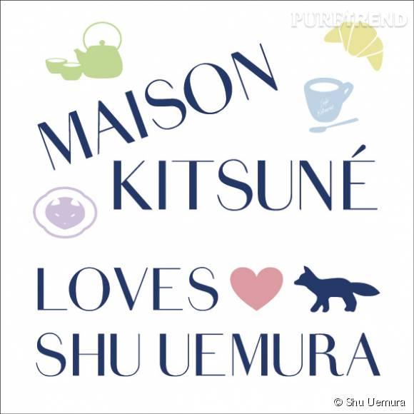 Shu Uemura x Maison Kitsuné, une collaboration au sommet du chic.
