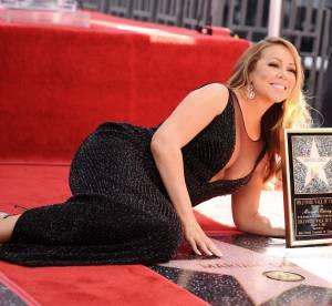 Mariah Carey : un décolleté de folie pour recevoir son étoile