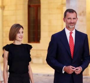 Letizia d'Espagne souveraine dans l'air du temps et canon à Majorque