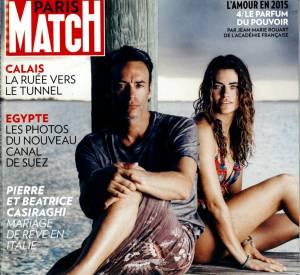 Anthony Delon et Alyson, sa fille, enfin réunis dans le Paris Match de la semaine du 6 août 2015