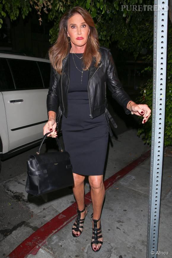 Caitlyn Jenner, le père de Kylie, était présente à la fête.