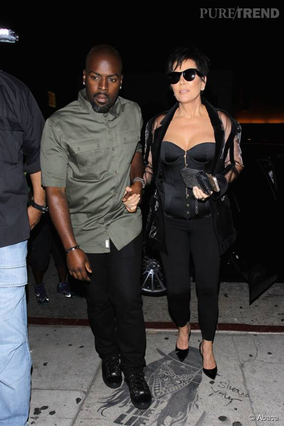 Kris Jenner, la maman de Kylie, avec son nouveau compagnon.