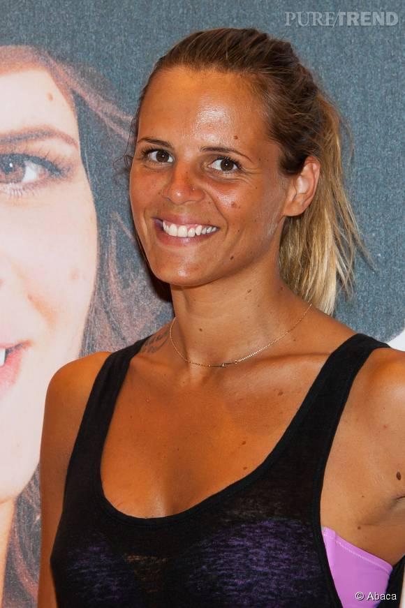 Laure Manaudou, son amoureux Jérémy Frérot lui lance des défis à l'antenne.