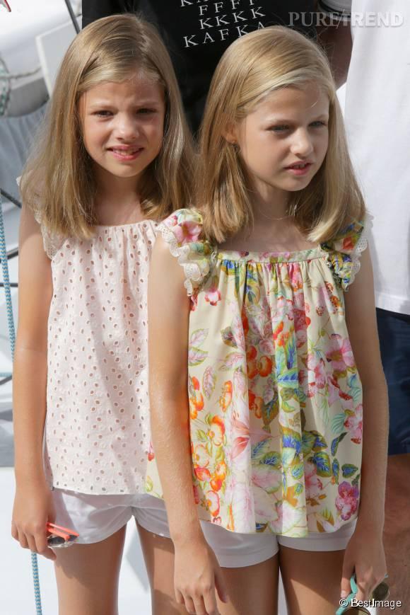 Sofia et Leonor ont bien grandi : ce sont deux ravissantes filles de 8 et 9 ans qui font la fierté de leurs parents.