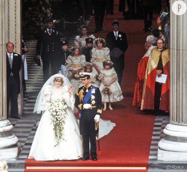 Le prince Charles et Lady Di.