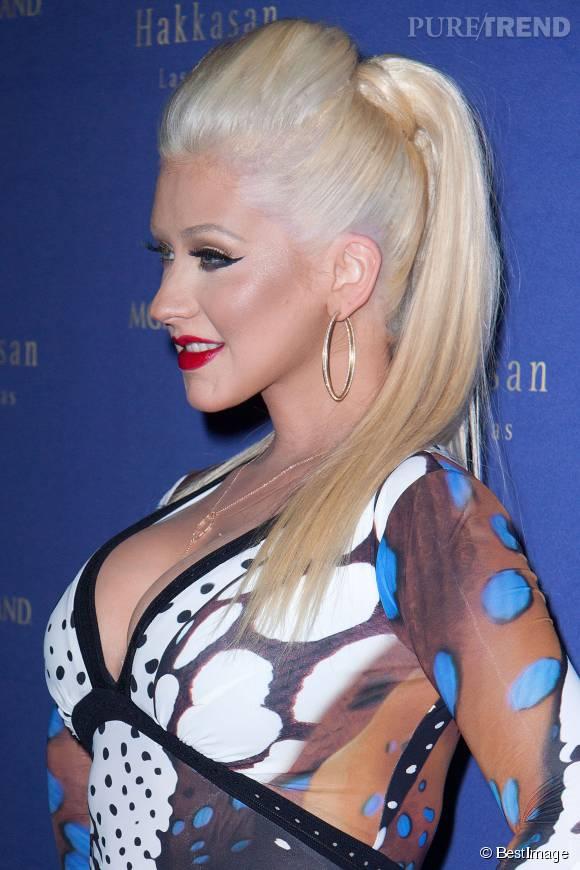 Christina Aguilera dévoile ses seins sur Instagram.