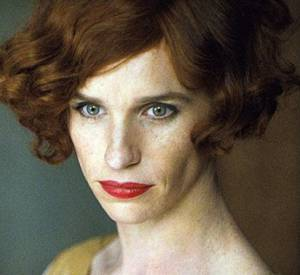 "Eddie Redmayne interprète Lili Elbe dans ""The Danish Girl"" qui sortira en janvier 2016."