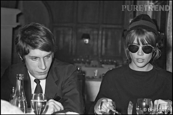 Jacques Dutronc et Françoise Hardy, couple mythique. L'éternel playboy reste l'amour de la vie de la chanteuse.