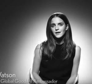 """Emma Watson interroge des """"figures de proue"""" de la mode sur le féminisme et l'égalité des sexes, pour Vogue UK."""