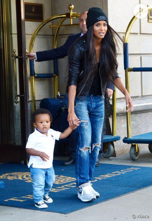 Ciara, une maman qui a du style à revendre.
