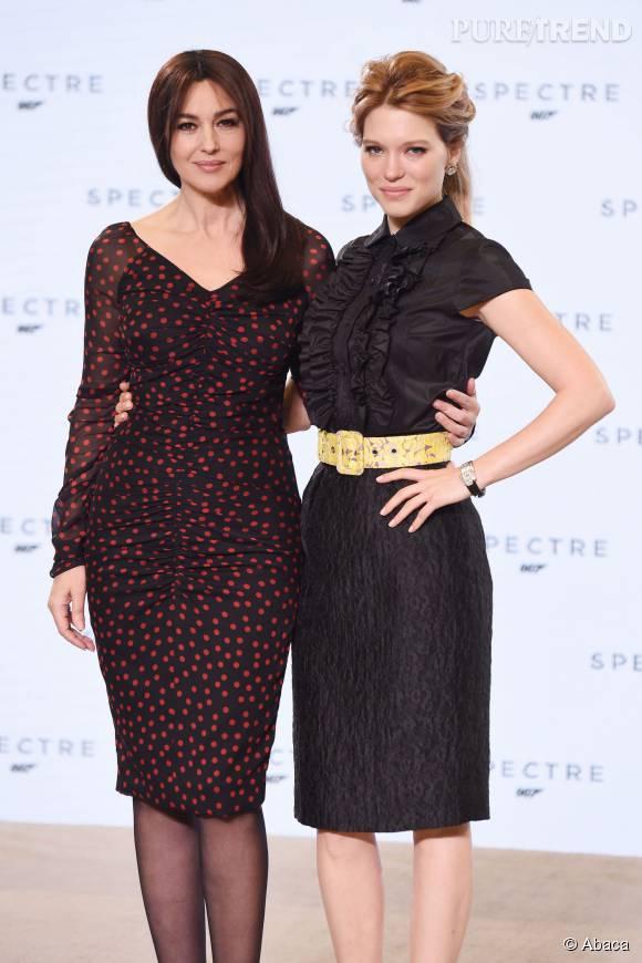 Les deux James Bond Girls, sublimes.