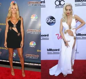 Heidi Klum vs Rita Ora : les robes découpées sexy Fausto Puglisi