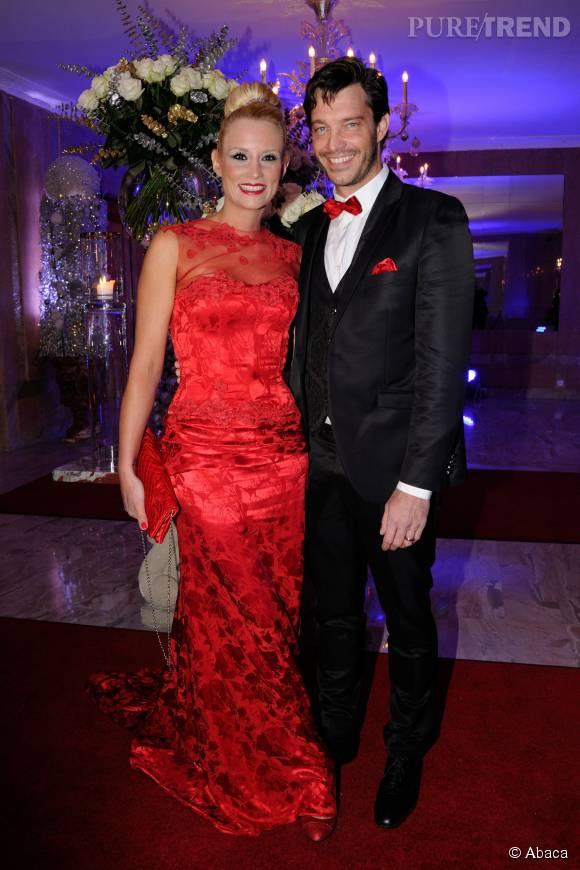 Elodie Gossuin et son mari Bertrand Lacherie, des parents comblés.