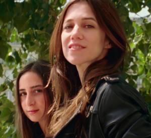 Charlotte Gainsbourg et sa fille Alice pour Comptoir des Cotonniers.