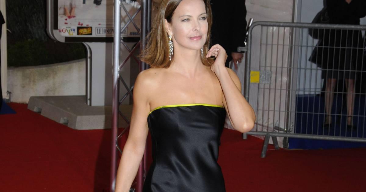 carole bouquet avait miseacute sur une robe noire et jaune lors du festival du film - Carole Bouquet Mariage 1991