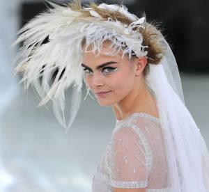 Cara Delevingne : Chanel, Saint Laurent, Valentino... ses plus beaux défilés