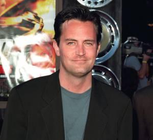 """Matthew Perry en 2000. L'acteur est devenu une star grâce au rôle de Chandler Bing dans """"Friends""""."""