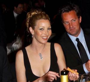 Matthew Perry et Lisa Kudrow photographiés en 2002.