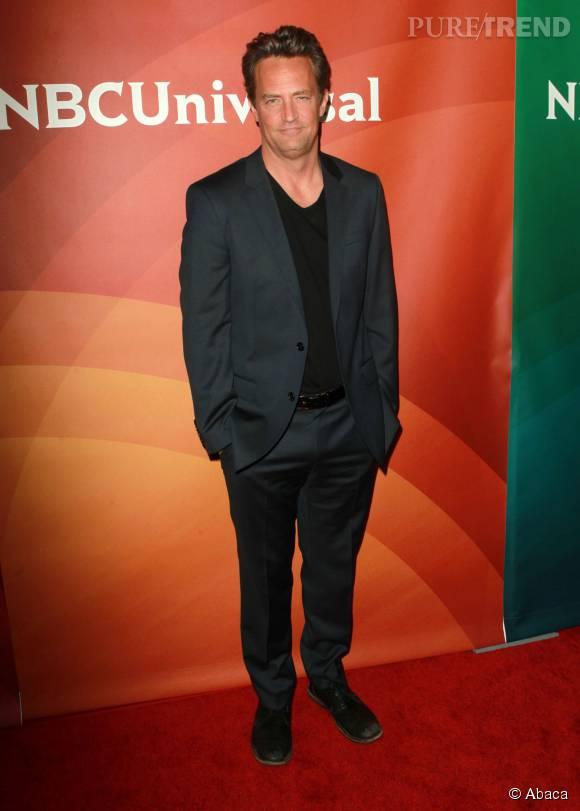 Matthew Perry fête aujourd'hui ses 46 ans.