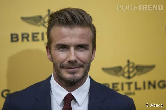David Beckham, papa complétement gaga de sa petite fille Harper.