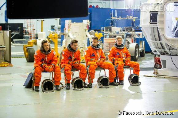 Les One Direction avaient rendez-vous à la NASA pour ce nouveau clip.
