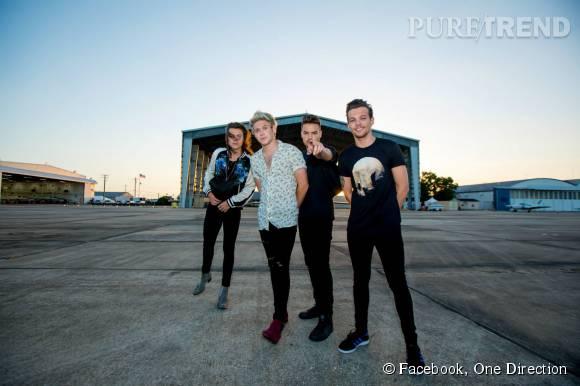 """Harry Styles, Louis Tomlinson, Niall Horan et Liam Payne mettent les réseaux sociaux sans dessus-dessous avec le clip de """"Drag me down""""."""