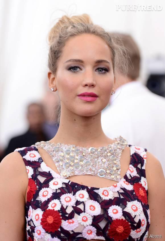 Jennifer Lawrence, actrice la mieux payée du monde de 2015.