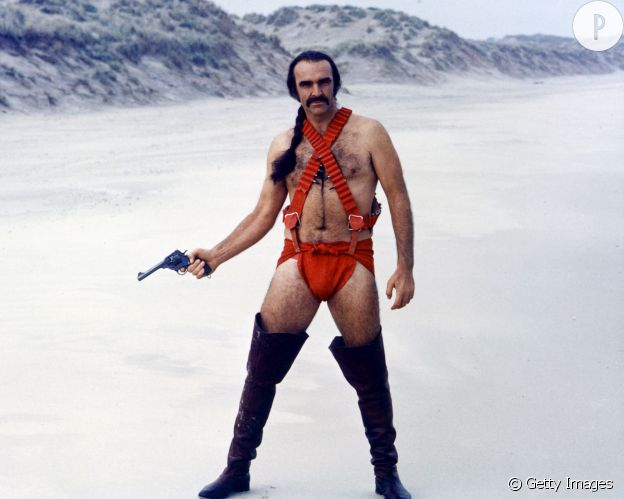 "Sean Connery dans ""Zardoz""."