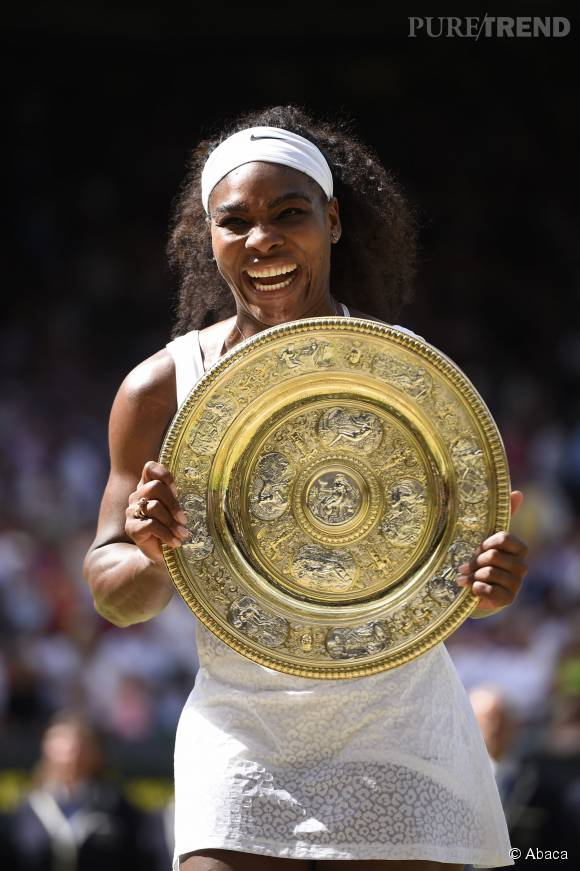 Serena Williams, numéro 1 du tennis féminin.