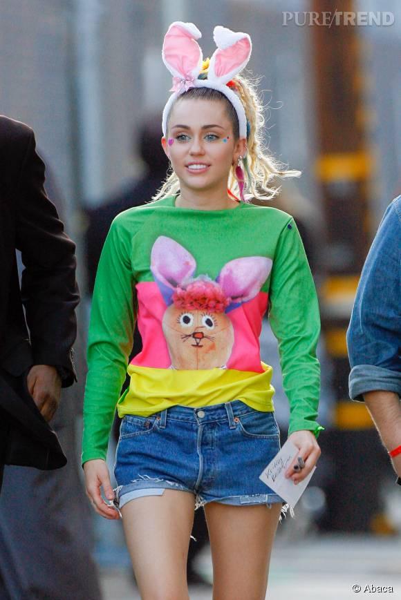 Miley Cyrus, une lapine qui fait jaser...