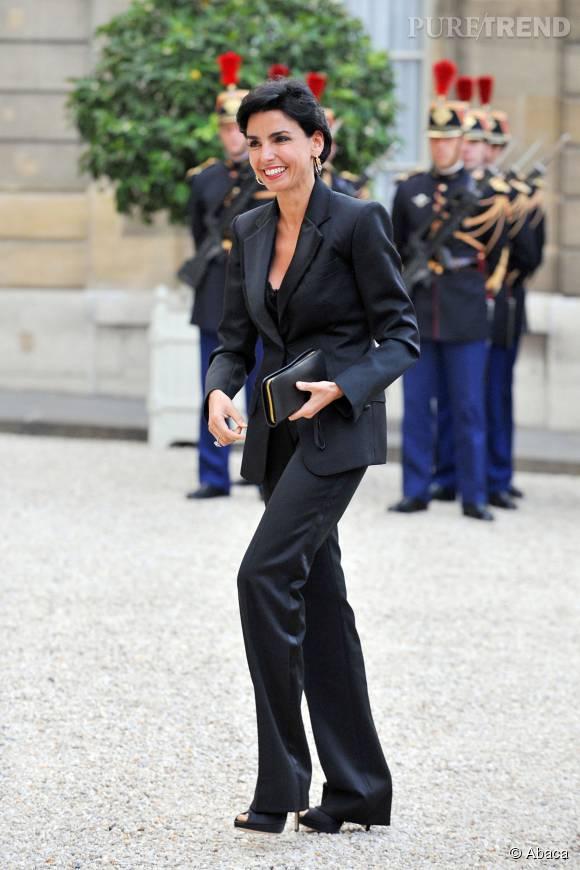 Rachida Dati est l'acutelle maire du VIIe arrondissement de Paris.