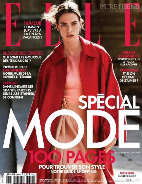 Hélène Sy se dévoile dans le nouveau numéro de  ELLE .
