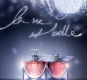 """Le parfum """"La vie est belle"""" s'enrichit d'une nouvelle déclinaison avec """"l'eau de parfum intense"""" (30 ml : 65€ ; 50 ml : 91,50 € ; 75 ml : 112€)."""