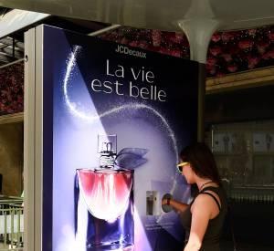 Les usagers pourront découvrir le parfum grâce à un procédé imaginé par JCDecaux Innovation.
