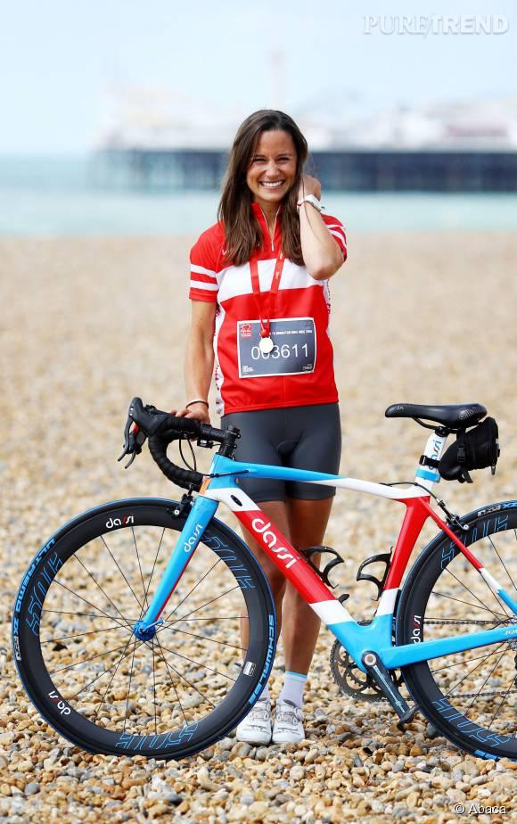Pippa Middleton s'est entraînée avec rigueur pour participer à l'Otillo Swim-Run World Championship.