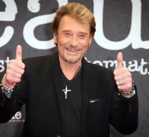Johnny Hallyday : Papa rock'n roll avec ses filles Jade et Joy à Saint-Barth