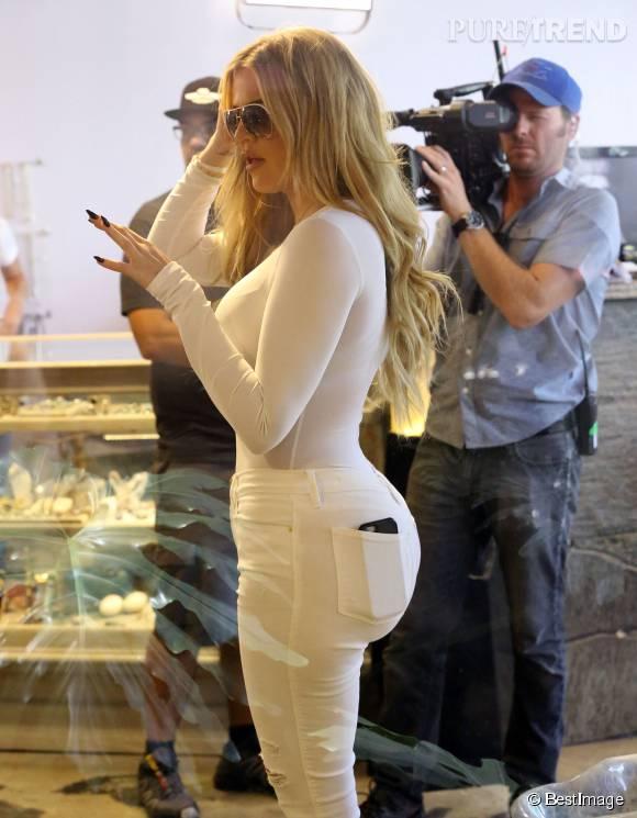 Khloe Kardashian fait du shopping à Los Angeles le 1er septembre 2015.