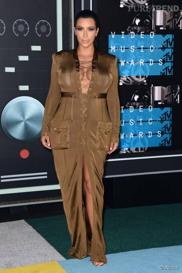 Kim Kardashian était aux MTV VMA dimanche dernier.