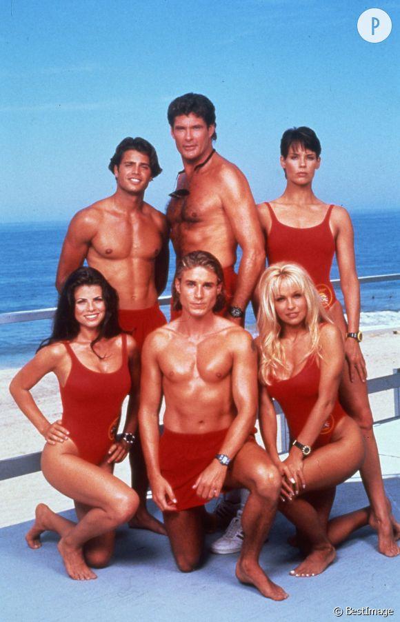 Les acteurs d'Alerte à Malibu.