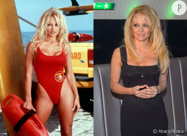 Pamela Anderson le grand changement.