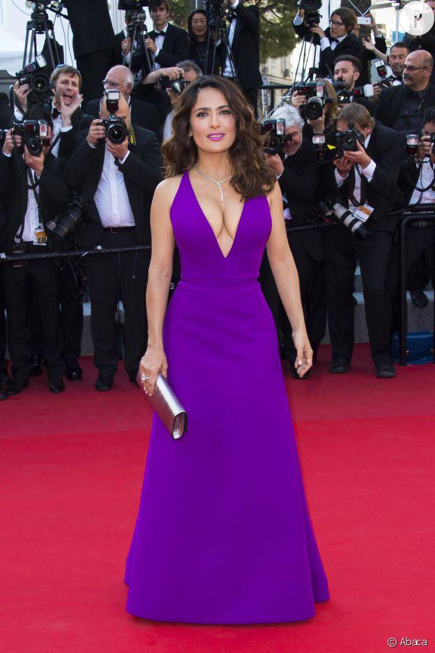 Salma Hayek au Festival de Cannes.