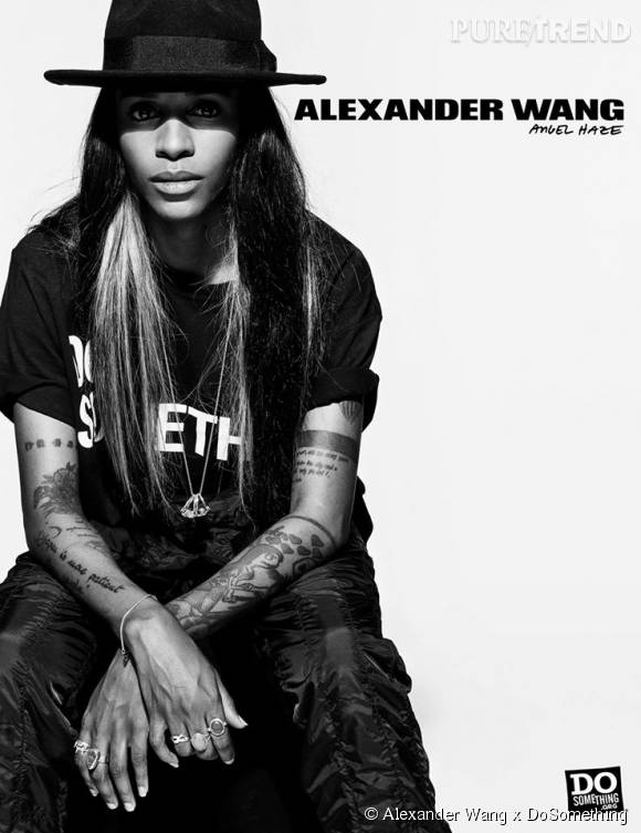 Angel Haze pour Alexander Wang x DoSomething.