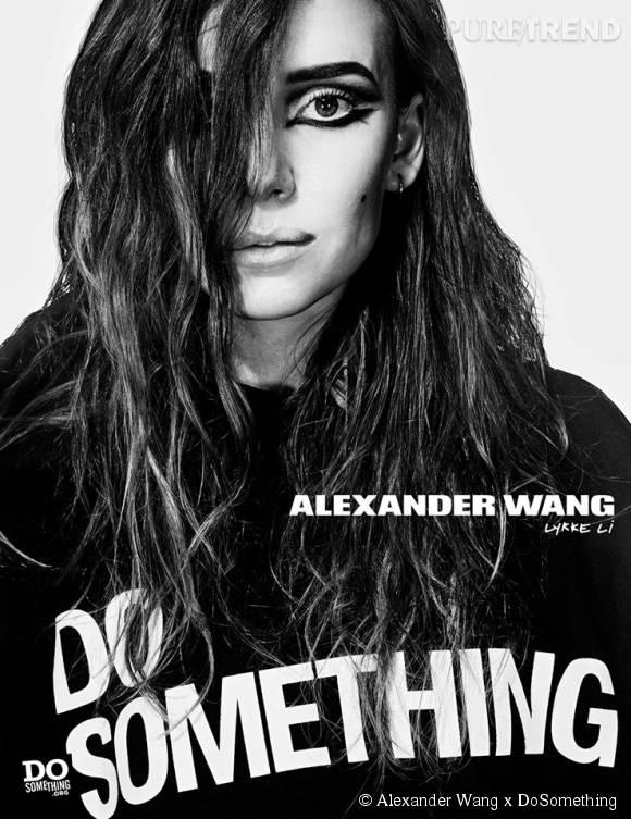 Lykke Li pour Alexander Wang x DoSomething.
