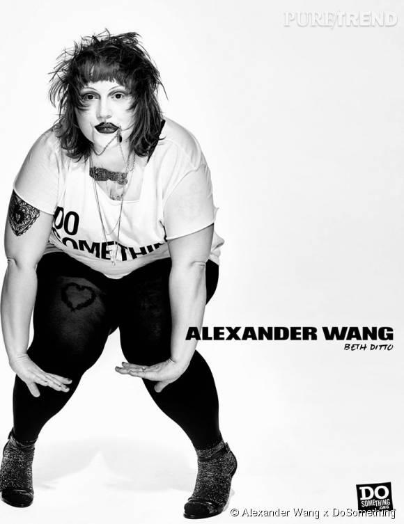 Beth Dito pour Alexander Wang x DoSomething.
