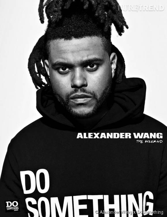 The Weeknd pour Alexander Wang x DoSomething.