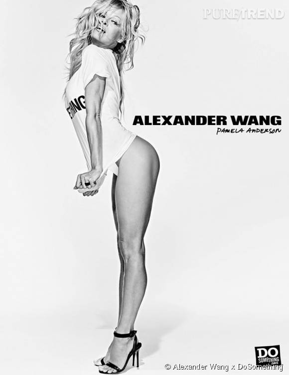 Pamela Anderson pour Alexander Wang x DoSomething.